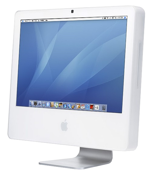 A picture of the white 2006 20-inch Intel iMac